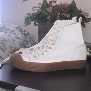 Top shop leather high tops